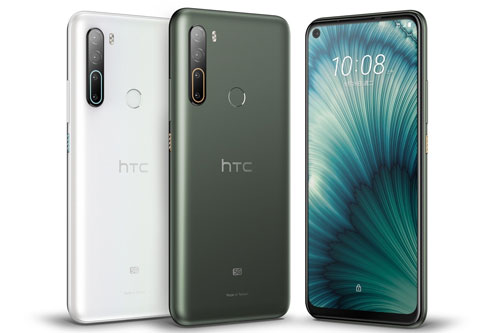 HTC U20 5G có 2 màu xanh đậm và trắng pha lê, bán ra ở Đài Loan từ ngày 1/7 tới với giá 18.990 Tân Đài tệ (tương đương 14,87 triệu đồng).
