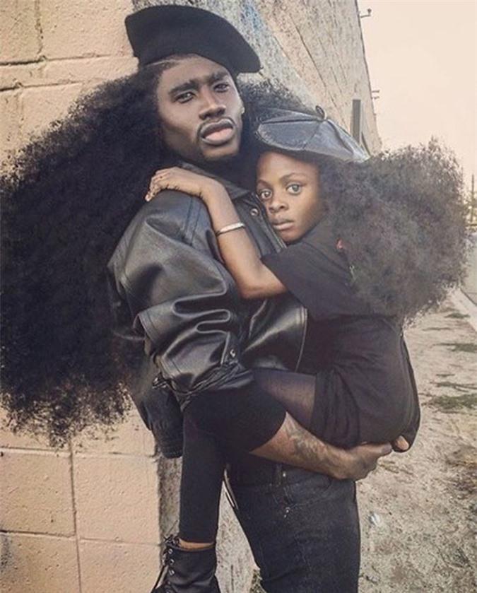 """Bố và con gái cùng sở hữu kiểu tóc xù bông """"bá đạo"""" nhất thế giới khiến ai nhìn cũng phải trầm trồ - Ảnh 10."""