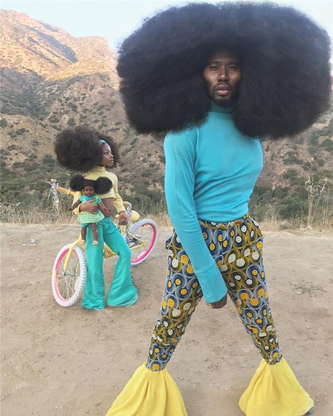 """Bố và con gái cùng sở hữu kiểu tóc xù bông """"bá đạo"""" nhất thế giới khiến ai nhìn cũng phải trầm trồ - Ảnh 2."""