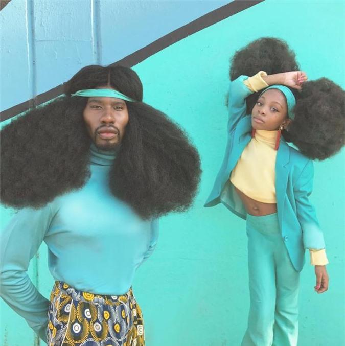 """Bố và con gái cùng sở hữu kiểu tóc xù bông """"bá đạo"""" nhất thế giới khiến ai nhìn cũng phải trầm trồ - Ảnh 6."""