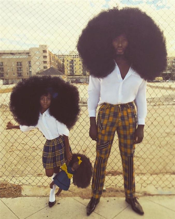 """Bố và con gái cùng sở hữu kiểu tóc xù bông """"bá đạo"""" nhất thế giới khiến ai nhìn cũng phải trầm trồ - Ảnh 8."""