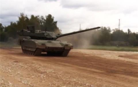 Tang Armata bi trung dan tai Syria
