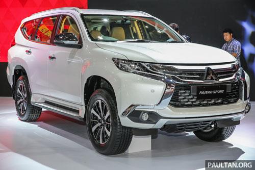 10. Mitsubishi Pajero Sport (doanh số: 109 chiếc).