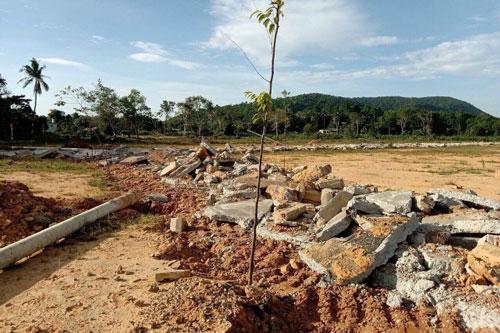 Cần có chế tài xử lý nghiêm đối với hoạt động cò đất gây mất ảnh an ninh trậ tự (Ảnh: TL)