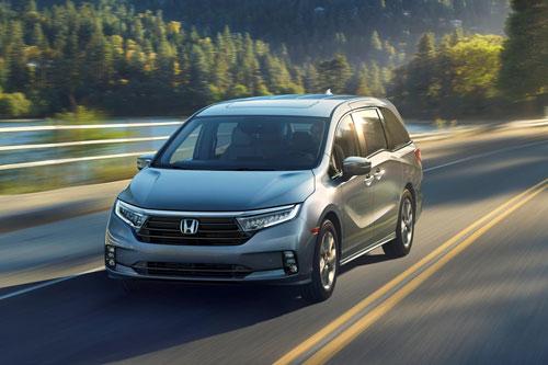 4. Honda Odyssey 2021.