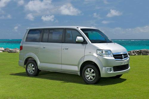 6. Suzuki APV Minibus (doanh số: 136 chiếc).