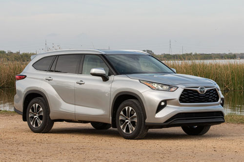 9. Toyota Highlander 2020.