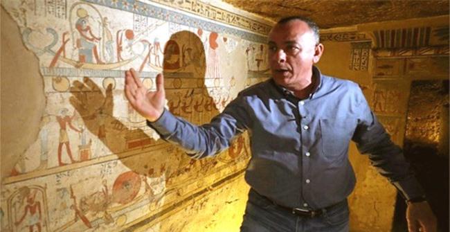 Ai Cập: phát hiện thêm một ngôi mộ cổ 2.000 năm tuổi - 1