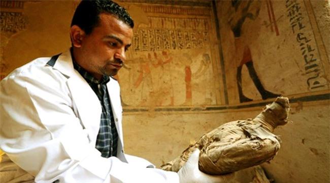 Ai Cập: phát hiện thêm một ngôi mộ cổ 2.000 năm tuổi - 3