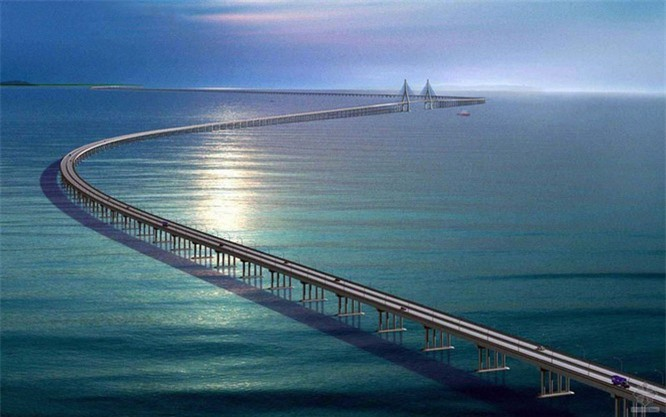 Top 8 cây cầu dài nhất thế giới - ảnh 5