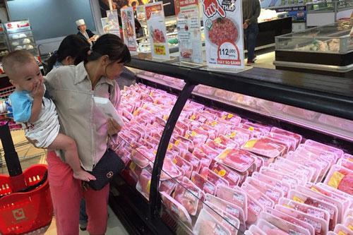 Các đơn vị cung ứng thịt lợn cho biết sẽ đẩy mạnh phát triển các sản phẩm thịt tươi sống đóng khay, vỉ. (Ảnh minh họa: Dân trí)