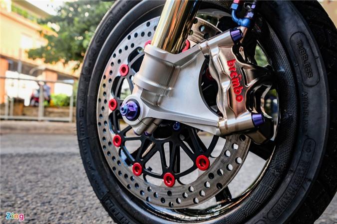 Biker Dong Thap chi hon 100 trieu do Honda Vario anh 7