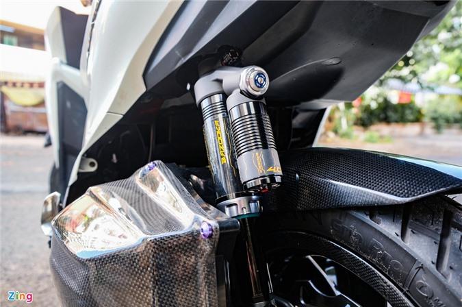 Biker Dong Thap chi hon 100 trieu do Honda Vario anh 8