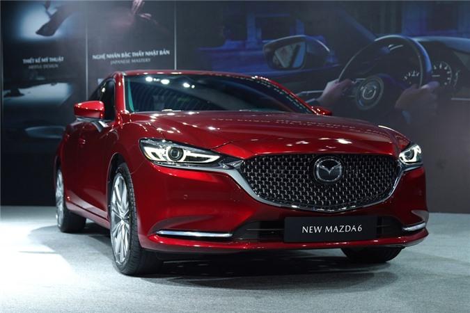 Mazda6 vua ra mat Viet Nam anh 14