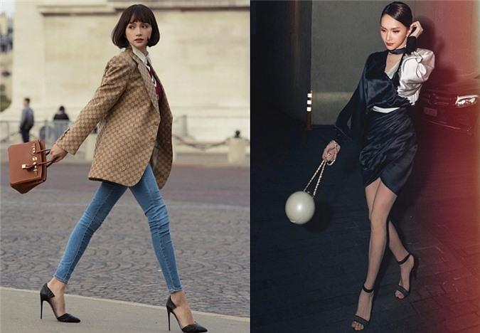 Hương Giang mạnh tay chi tiền nhiều mẫu túi xách giá khoảng 300 triệu đồng của thường hiệu Hermès, Chanel...