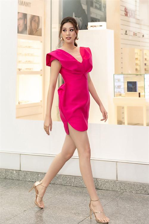 Khánh Vân hiện dồn sức cho việc rèn luyện để đại diện Việt Nam tham dự Miss Universe 2020.