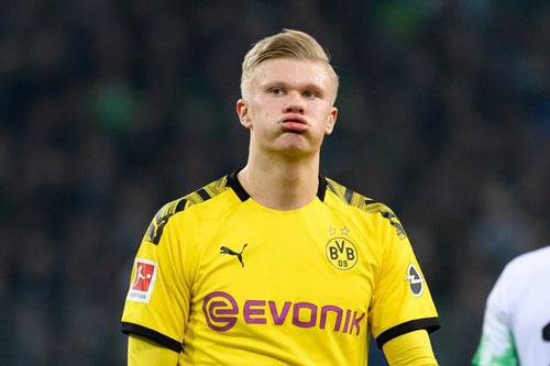 10. Erling Haaland (Dortmund - Mức lương hiện tại: 100.000 bảng/tuần).