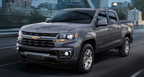 Chevrolet Colorado 2021.