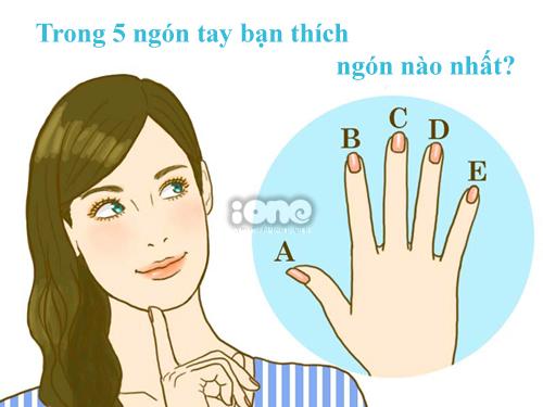 Bạn chọn ngón tay nào?