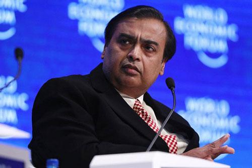 Tỷ phú Ấn Độ Mukesh Ambani. (Ảnh: Bloomberg).