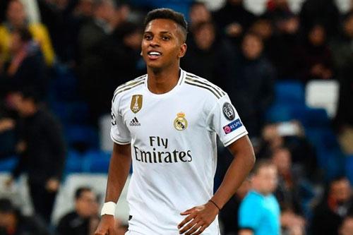 8. Rodrygo Goes (Real Madrid - Mức lương hiện tại: 130.000 bảng/tuần).