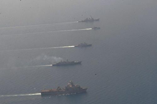 NATO ngày càng mạnh bạo trong việc khép chặt vòng vây chống lại Nga. Ảnh: RIA Novosti.