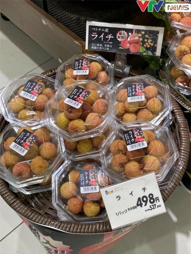 Gần 12.000 đồng cho 1 quả vải thiều Việt tại Nhật - Ảnh 1.