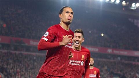 Van Dijk có công không nhỏ trong chức vô địch Premier League lần đầu tiên trong lịch sử Liverpool