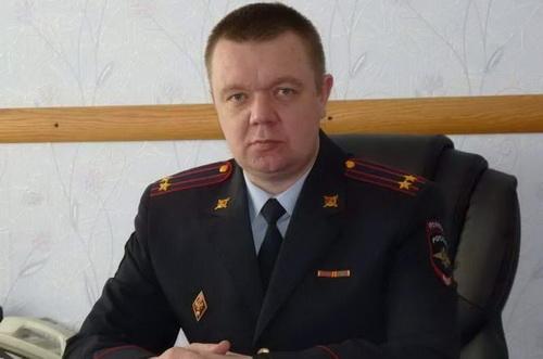 Trung tá cảnh sát Dmitry Aleksandrovich Borzenkov đã bị bắt giữ với cáo buộc làm gián điệp. Ảnh: TASS.