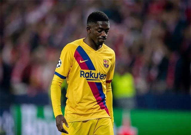 Quãng thời gian của Dembele ở Barca đã cạn?