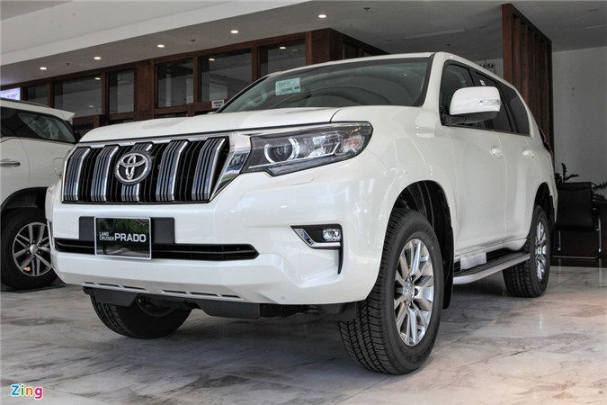 Toyota Land Cruiser Prado 2020 ra mat anh 1