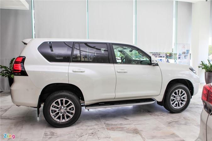 Toyota Land Cruiser Prado 2020 ra mat anh 3