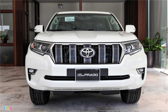 Toyota Land Cruiser Prado 2020 ra mat anh 4
