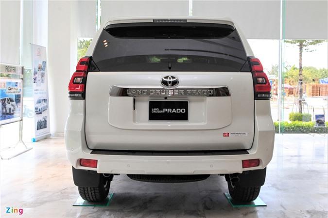 Toyota Land Cruiser Prado 2020 ra mat anh 5