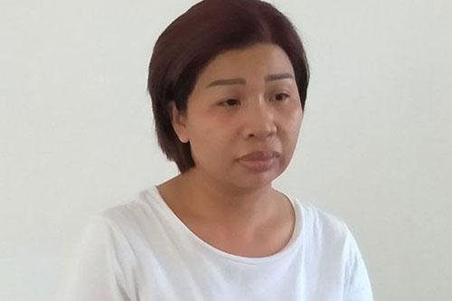 Trần Thị Bình Phương bị bắt tạm giam phục vụ công tác điều tra.