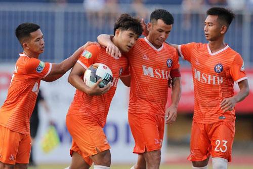 SHB Đà Nẵng giành chiến thắng ấn tượng.