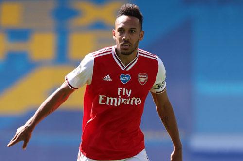 Tiền đạo: Pierre-Emerick Aubameyang (Arsenal, 31 tuổi, giá trị chuyển nhượng: 56 triệu euro).