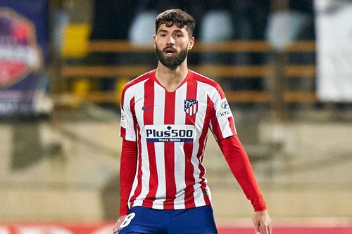 Trung vệ: Felipe Augusto (Atletico Madrid, 31 tuổi, giá trị chuyển nhượng: 25,5 triệu euro).