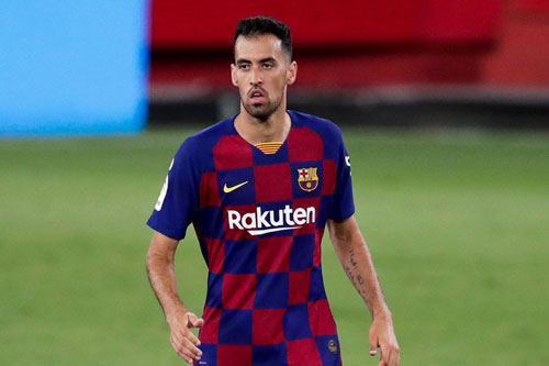 Tiền vệ: Sergio Busquets (Barcelona, 31 tuổi, giá trị chuyển nhượng: 28 triệu euro).