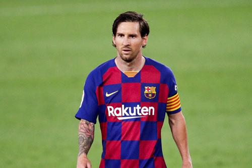 Tiền đạo: Lionel Messi (Barcelona, 33 tuổi, giá trị chuyển nhượng: 112 triệu euro).