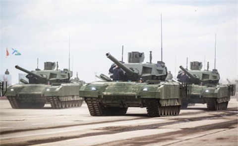 An Do du tinh mua 500 tang T-14 Armata?