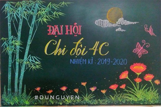 Thầy giáo 9X vẽ hoa phượng trên bảng phấn gây sốt cộng đồng mạng - Ảnh 12.