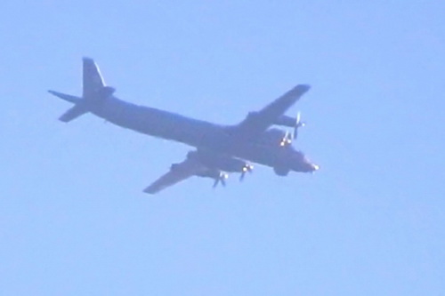 Máy bay tuần tra chống ngầm Il-38 của Nga đã bị tiêm kích F-22 Mỹ đánh chặn ngoài khơi Alaska. Ảnh: Avia-pro.