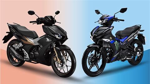 Yamaha Exciter 150 và Honda Winner X.