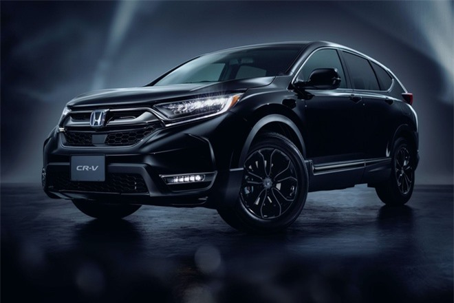 Honda CR-V ra ban dac biet son den bong anh 1