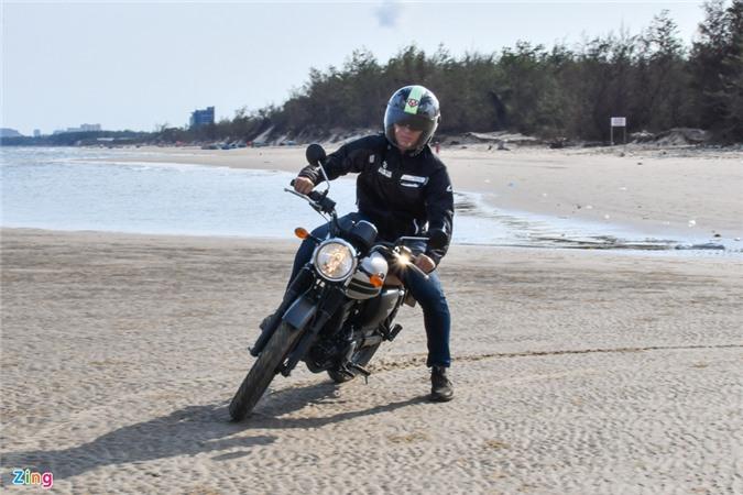 Kham pha Vung Tau voi Kawasaki W175 - dong co em ai, giam xoc kho chiu anh 12