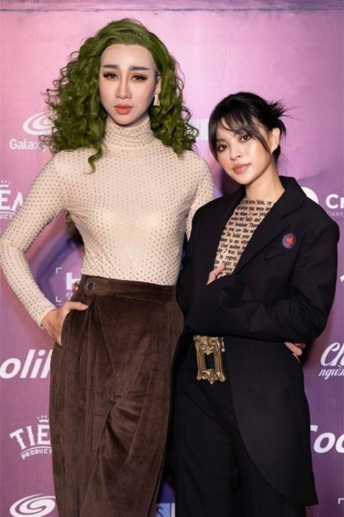 Tú Hảo và Hải Triều cùng góp mặt trong phim.