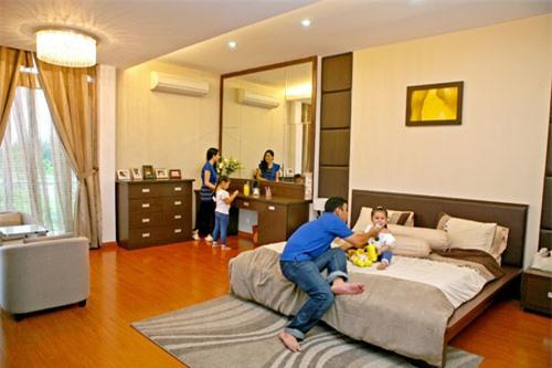 Phòng ngủ đơn giản nhưng hiện đại