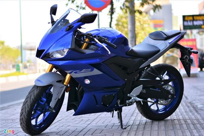 Yamaha YZF-R3.