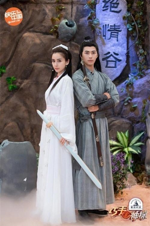 Tiểu Long NữAngelababy kết hợp với Dương Quá Trần Học Đông.